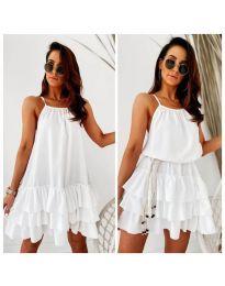 Šaty - kód 451 - bíla