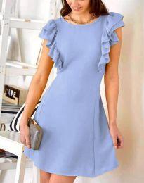 Šaty - kód 7111 - světle modrá