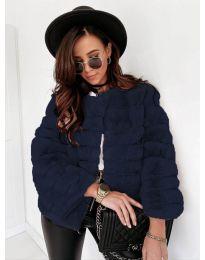 Kabát - kód 7676 - tmavě modrá