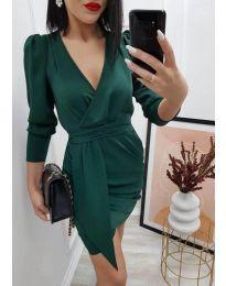 Šaty - kód 0515 - tmavozelenou