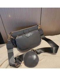 kabelka - kód 3344 - tmavě šedá