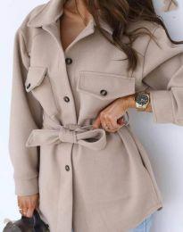 Kabát - kód 4966 - bežová