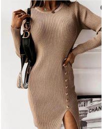 Šaty - kód 3200 - cappuccino