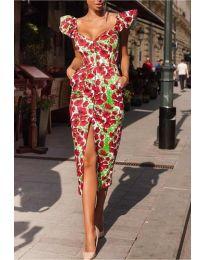Šaty - kód 4467 - vícebarevné