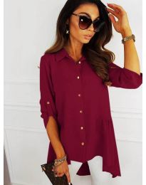 Košile - kód 5689 - bordeaux