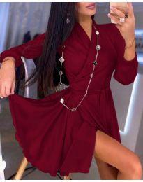 Šaty - kód 2428 - bordeaux
