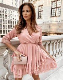 Šaty - kód 0545 - pudrová