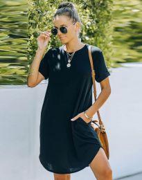 Šaty - kód 38444 - černá