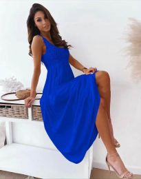 Šaty - kód 4807 - modrá