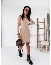 Šaty - kód 5696 - bežová
