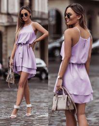 Šaty - kód 2104 - světle fialová