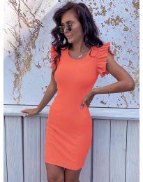 Šaty - kód 199 - oranžová