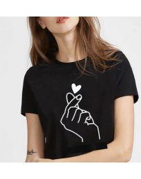 Tričko - kód 816 - černá