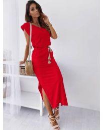 Šaty - kód 6622 - červená
