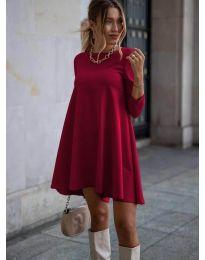 Šaty - kód 371 - bordeaux