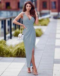 Šaty - kód 6135 - světle modrá