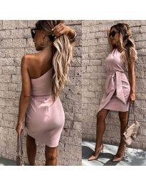 Šaty - kód 2457 - růžova