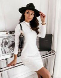Šaty - kód 7092 - bílá