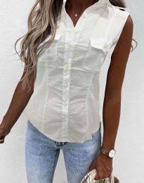 Košile - kód 0158 - 1 - bílá