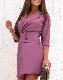 Šaty - kód 1356 - fialová