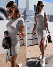 Šaty - kód 8391 - šedá