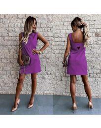 Šaty - kód 1156 - fialová
