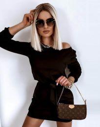 Šaty - kód 12038 - černá