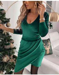 Šaty - kód 2129 - zelená