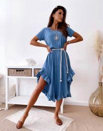 Šaty - kód 11893 - modrá