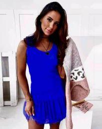Šaty - kód 2994 - modrá