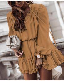 Šaty - kód 3231 - hněda