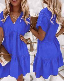 Šaty - kód 8978 - modrá