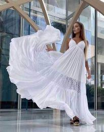 Šaty - kód 6838 - bílá