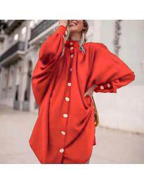 Šaty - kód 0899 - červená