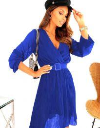 Šaty - kód 3497 - modrá