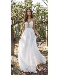 Šaty - kód 637 - bíla