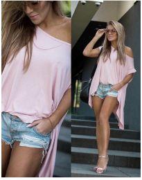 Tričko - kód 0909 - růžová