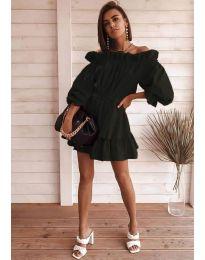 Šaty - kód 3386 - černá