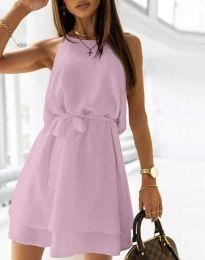 Šaty - kód 9968 - fialová