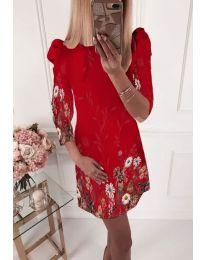Šaty - kód 240 - červená