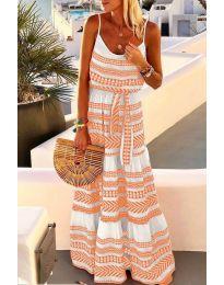 Šaty - kód 621 - oranžová