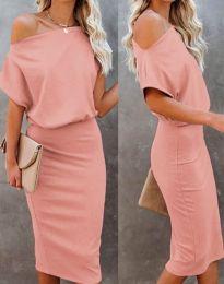 Šaty - kód 1737 - růžová