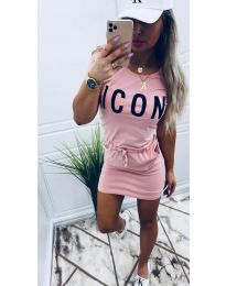 Šaty - kód 9905 - růžová