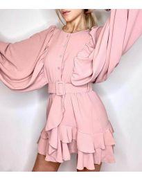 Šaty - kód 6299 - růžová