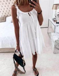 Šaty - kód 2540 - bíla