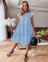 Šaty - kód 2666 - světle modrá