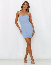 Šaty - kód 10099 - světle modrá