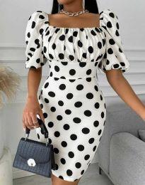 Šaty - kód 3375 - 1 - bílá