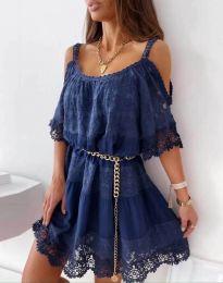Šaty - kód 6954 - modrá