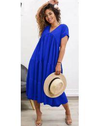 Šaty - kód 4475 - tmavě modrá